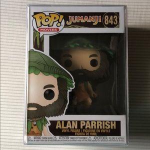 Alan Parrish Jumanji POP! with protector